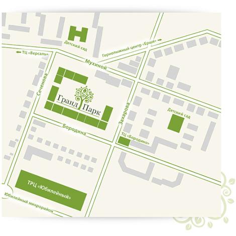 Инфраструктура жилого комплекса «Гранд-Парк»